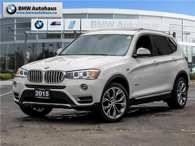 2015 BMW X3 xDrive28i (Stk: P8611) in Thornhill - Image 1 of 20