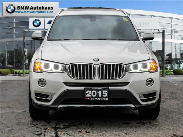 2015 BMW X3 xDrive28i (Stk: P8611) in Thornhill - Image 2 of 20