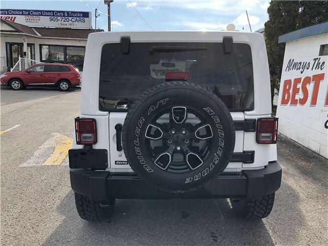 2018 Jeep Wrangler JK Unlimited Sahara (Stk: 18-708) in Oshawa - Image 6 of 14