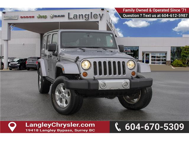 2013 Jeep Wrangler Unlimited Sahara (Stk: H693311A) in Surrey - Image 1 of 23