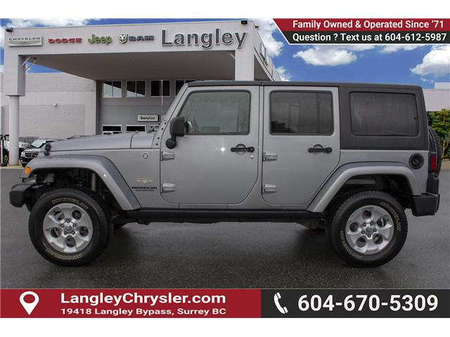 2013 Jeep Wrangler Unlimited Sahara (Stk: H693311A) in Surrey - Image 4 of 23