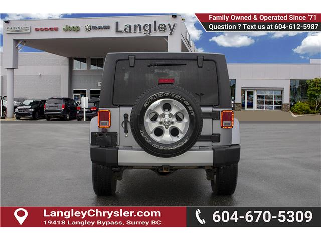 2013 Jeep Wrangler Unlimited Sahara (Stk: H693311A) in Surrey - Image 5 of 23