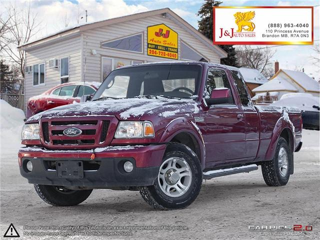 2011 Ford Ranger Sport (Stk: J18101) in Brandon - Image 1 of 27