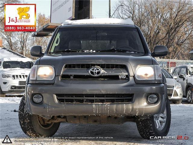 2007 Toyota Sequoia Limited V8 (Stk: J18096) in Brandon - Image 2 of 27