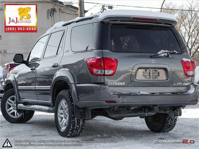 2007 Toyota Sequoia Limited V8 (Stk: J18096) in Brandon - Image 4 of 27
