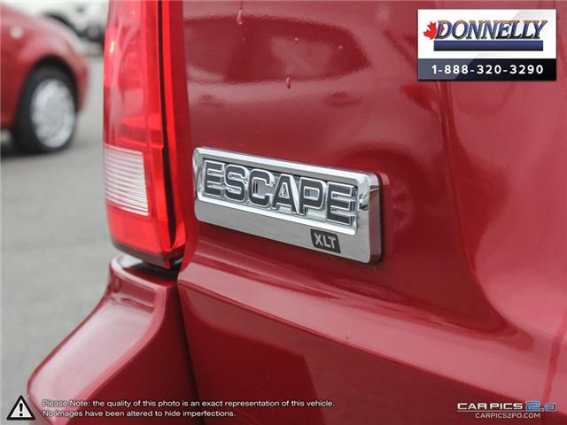 2011 Ford Escape XLT Automatic (Stk: PBWDR1945A) in Ottawa - Image 12 of 28