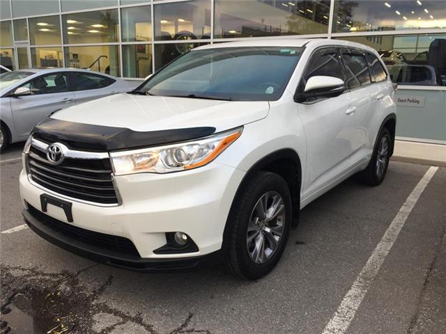 2015 Toyota Highlander LE (Stk: 091721P) in Brampton - Image 1 of 3