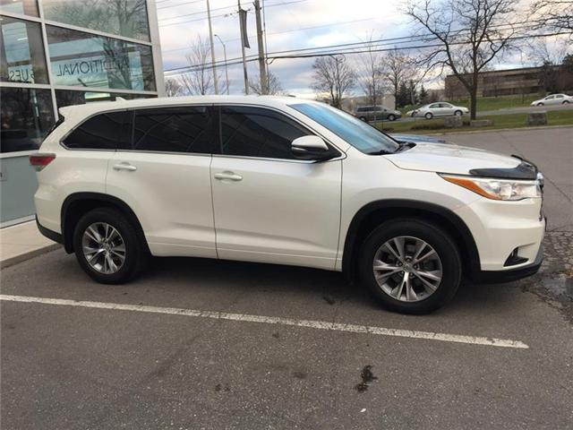2015 Toyota Highlander LE (Stk: 091721P) in Brampton - Image 2 of 3