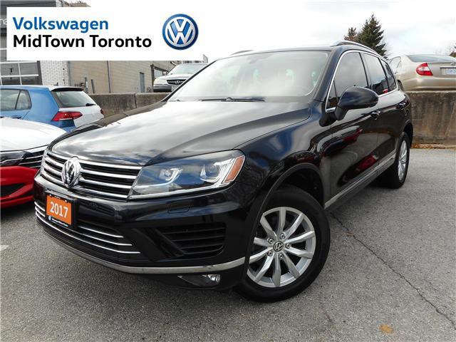 2017 Volkswagen Touareg 3.6L Sportline (Stk: P7123) in Toronto - Image 1 of 28