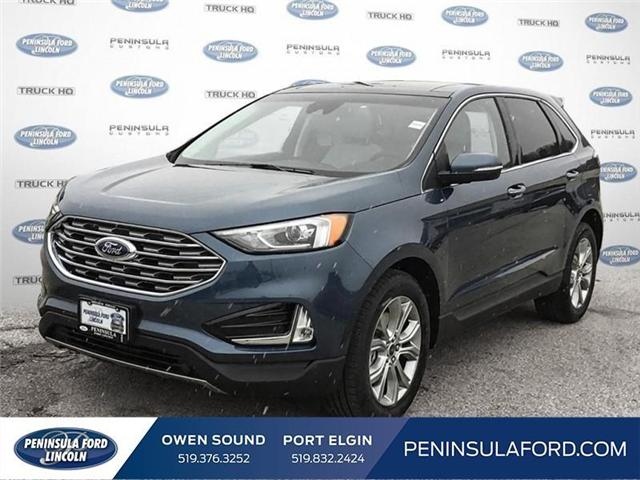 2019 Ford Edge Titanium (Stk: 19ED08) in Owen Sound - Image 1 of 24