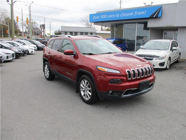 2014 Jeep Cherokee Limited (Stk: 181702) in Kingston - Image 1 of 12