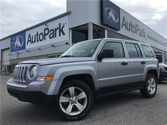 2017 Jeep Patriot Sport/North (Stk: 17-87566JB) in Barrie - Image 1 of 22
