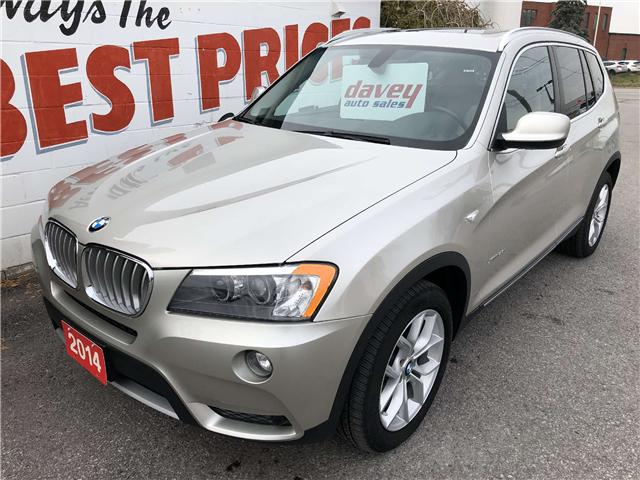 2014 BMW X3 xDrive28i (Stk: 18-703) in Oshawa - Image 1 of 17