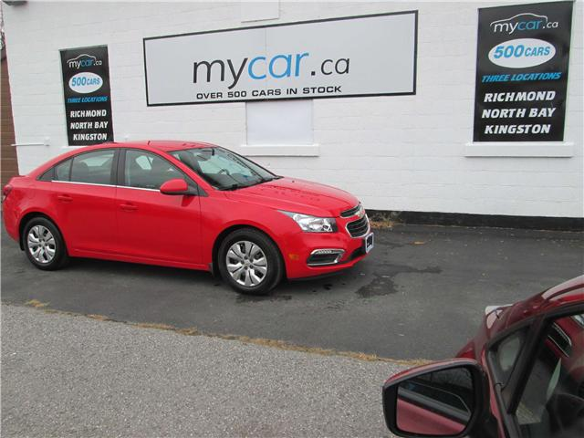 2015 Chevrolet Cruze 1LT (Stk: 181756) in Richmond - Image 2 of 13