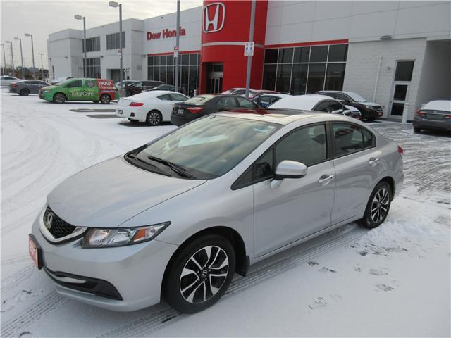 2014 Honda Civic EX (Stk: SS3254) in Ottawa - Image 1 of 9