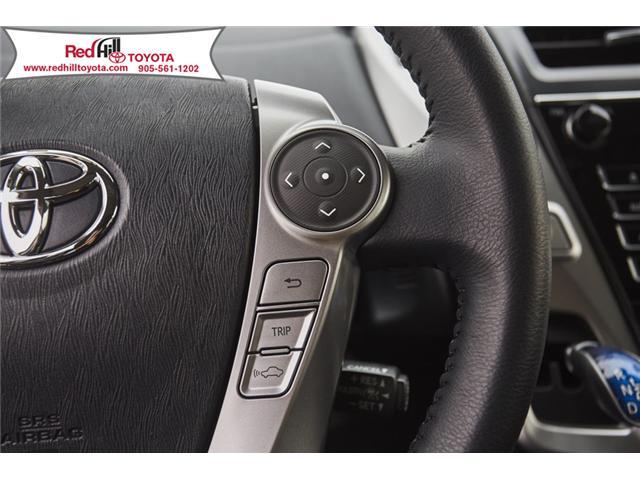 2018 Toyota Prius v  (Stk: 75853) in Hamilton - Image 17 of 21