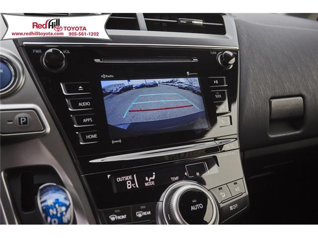 2018 Toyota Prius v  (Stk: 75853) in Hamilton - Image 19 of 21