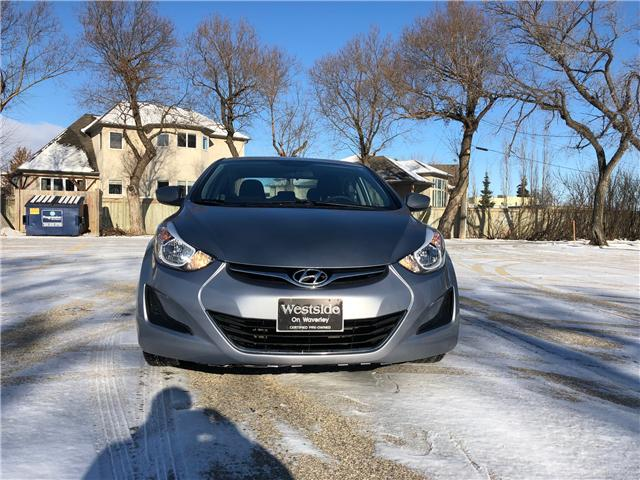 2016 Hyundai Elantra GL (Stk: 9709.0) in Winnipeg - Image 2 of 20