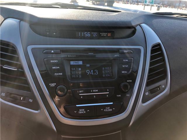 2016 Hyundai Elantra GL (Stk: 9709.0) in Winnipeg - Image 17 of 20