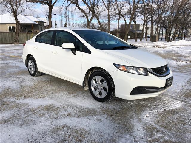 2014 Honda Civic LX (Stk: 9794.0) in Winnipeg - Image 1 of 21