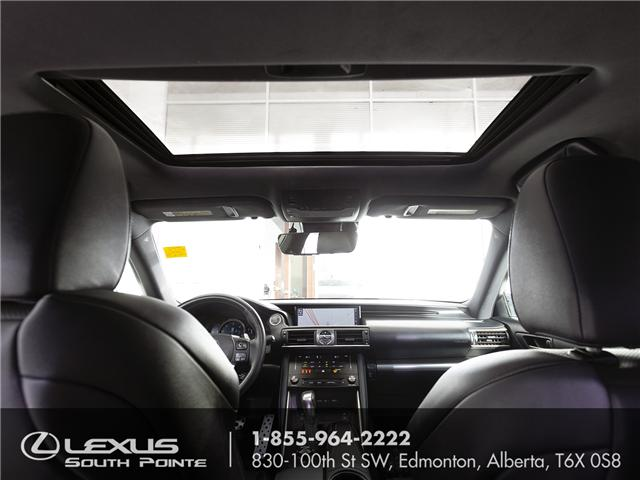 2017 Lexus IS 300 Base (Stk: L800318A) in Edmonton - Image 10 of 20