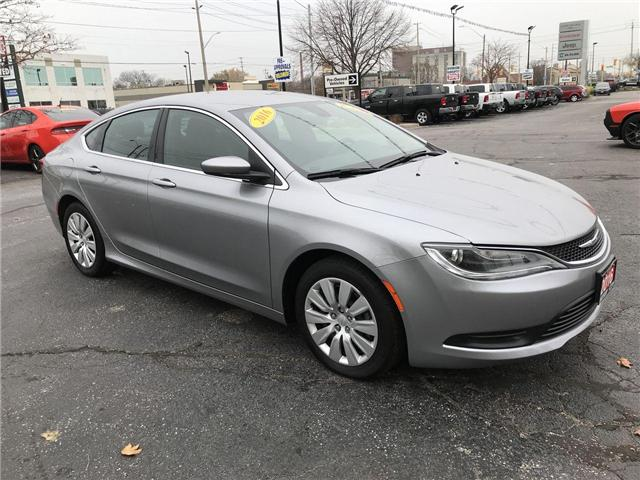 2016 Chrysler 200 LX (Stk: 19339A) in Windsor - Image 1 of 11
