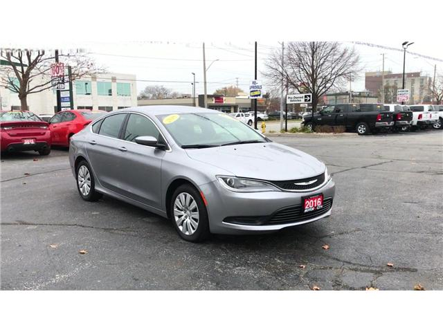 2016 Chrysler 200 LX (Stk: 19339A) in Windsor - Image 2 of 11