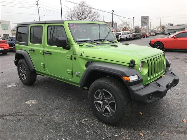 2018 Jeep Wrangler Unlimited Sport (Stk: 181343) in Windsor - Image 1 of 11