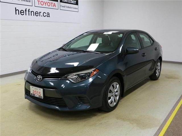 2015 Toyota Corolla LE (Stk: 186363) in Kitchener - Image 1 of 28