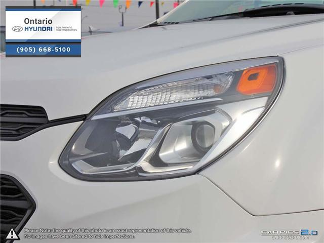 2017 Chevrolet Equinox LT / Upgraded Rims (Stk: 93072K) in Whitby - Image 10 of 27