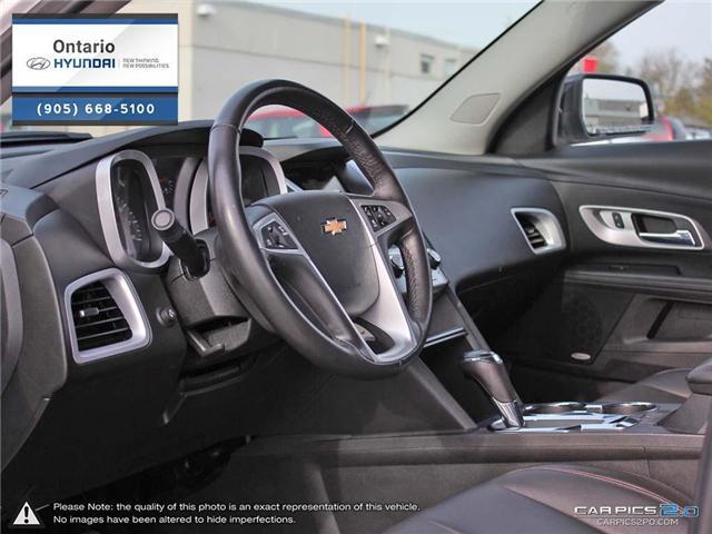 2017 Chevrolet Equinox LT / Upgraded Rims (Stk: 93072K) in Whitby - Image 13 of 27