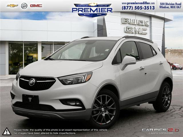 2019 Buick Encore Sport Touring (Stk: 191344) in Windsor - Image 1 of 27