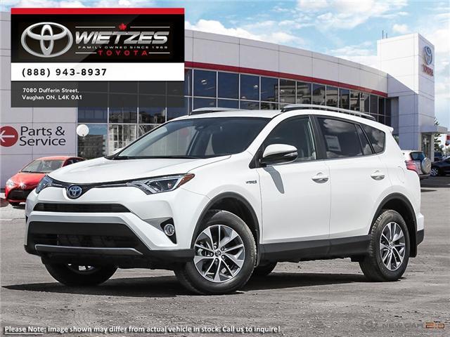 2018 Toyota RAV4 AWD Hybrid LE+ (Stk: 67696) in Vaughan - Image 1 of 24