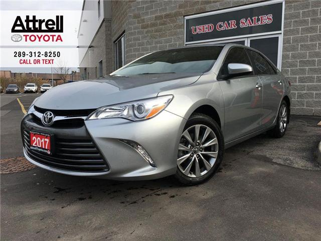 2017 Toyota Camry XLE 4 CYL LEATHER, NAVI, ALLOYS, QI CHARGING, SUNR (Stk: 42510A) in Brampton - Image 1 of 29