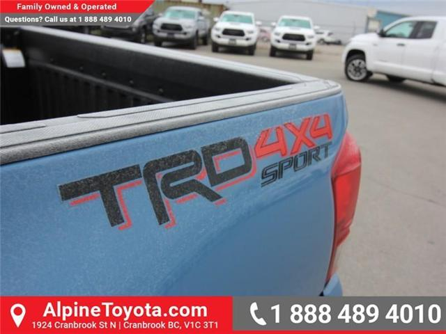 2019 Toyota Tacoma SR5 V6 (Stk: X039782) in Cranbrook - Image 16 of 17