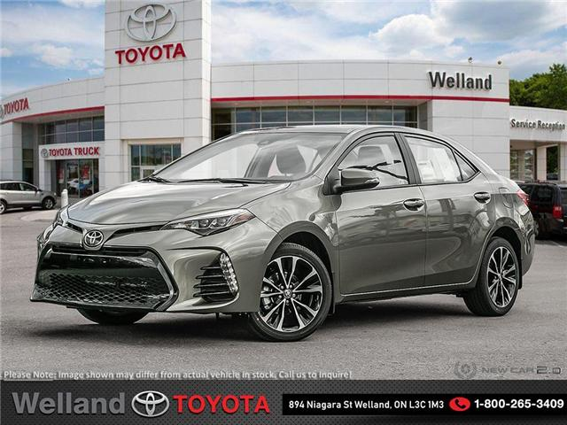 2019 Toyota Corolla SE Upgrade Package (Stk: COR6226) in Welland - Image 1 of 24
