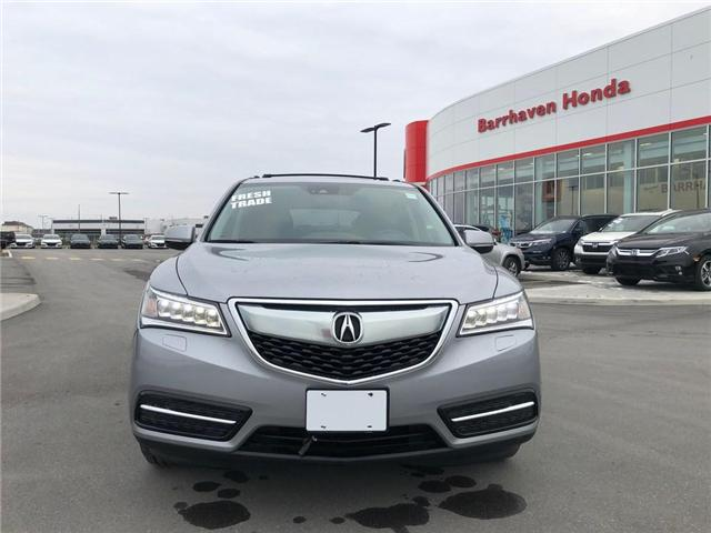 2016 Acura MDX Navigation Package (Stk: B0176) in Nepean - Image 2 of 26