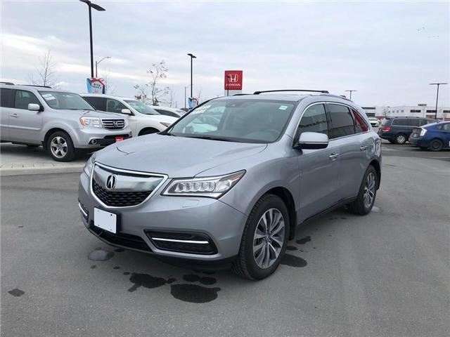 2016 Acura MDX Navigation Package (Stk: B0176) in Nepean - Image 3 of 26
