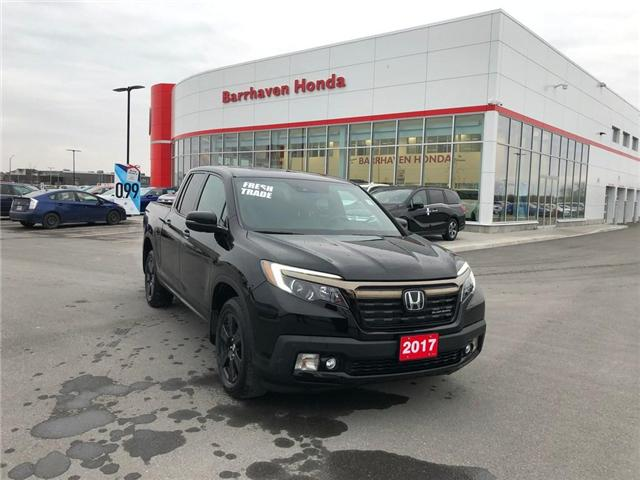 2017 Honda Ridgeline Black Edition (Stk: B0184) in Nepean - Image 1 of 24