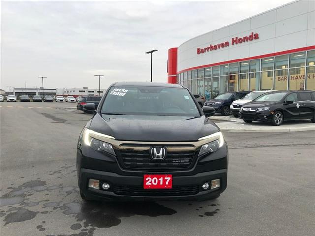 2017 Honda Ridgeline Black Edition (Stk: B0184) in Nepean - Image 2 of 24