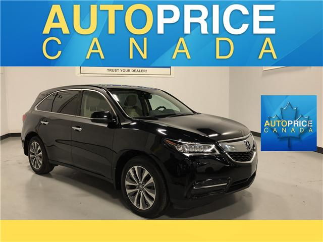 2016 Acura MDX Navigation Package (Stk: B9939) in Mississauga - Image 1 of 30