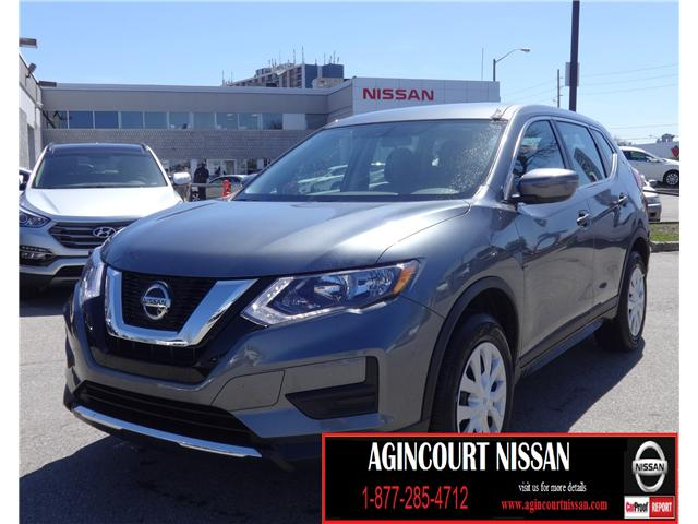 2018 Nissan Rogue S (Stk: U12320) in Scarborough - Image 1 of 18