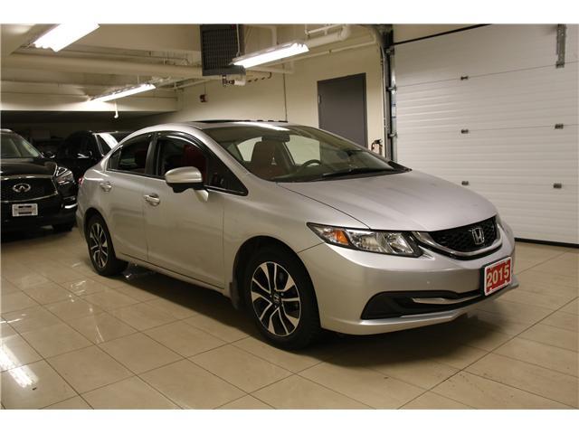2015 Honda Civic EX (Stk: I19150A) in Toronto - Image 7 of 28