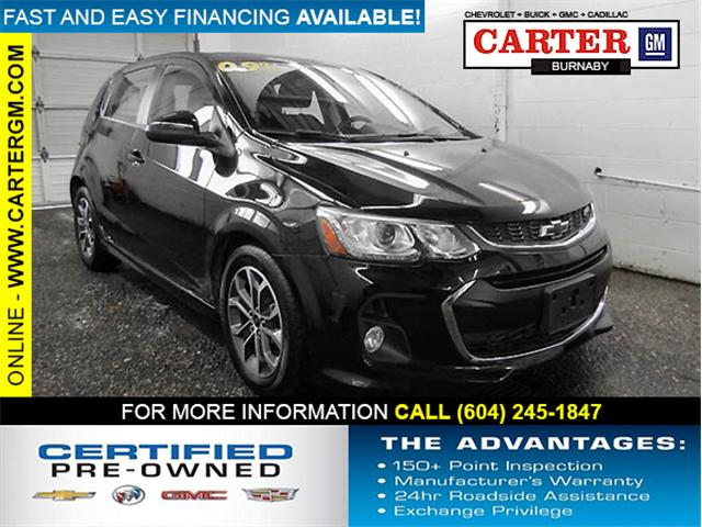 2018 Chevrolet Sonic LT Auto (Stk: P9-56690) in Burnaby - Image 1 of 23