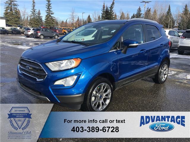 2018 Ford EcoSport Titanium (Stk: J-1460) in Calgary - Image 1 of 6