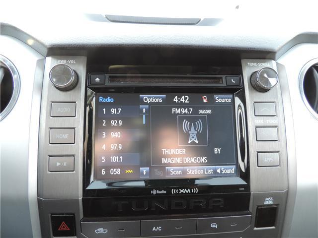 2018 Toyota Tundra SR5 Plus 5.7L V8 (Stk: 185661) in Brandon - Image 16 of 20