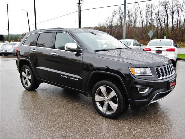 2015 Jeep Grand Cherokee Limited (Stk: 1434) in Orangeville - Image 8 of 21