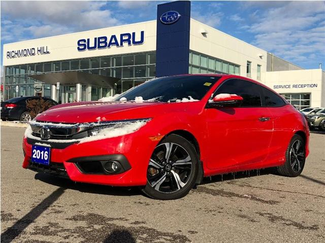 2016 Honda Civic Touring (Stk: T32235) in RICHMOND HILL - Image 1 of 21