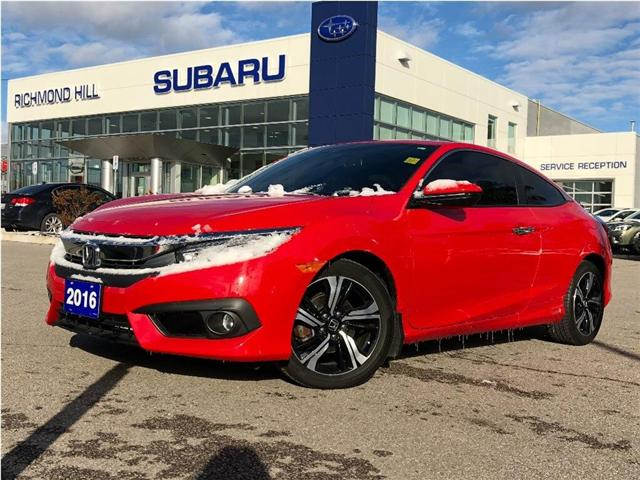 2016 Honda Civic Touring (Stk: T32235) in RICHMOND HILL - Image 9 of 21