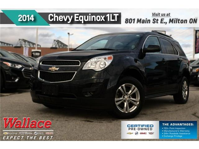 2014 Chevrolet Equinox 1LT/CLEAN HSTRY/HTD SEATS/REMOTE STRT/REAR CAM (Stk: 152294A) in Milton - Image 1 of 3